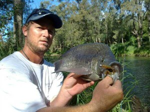 Norm with a Tilapia on Z Man GrubZ