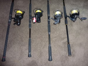 My Rod & Reel Combos